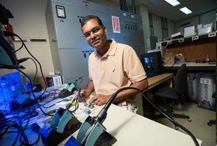 USask researcher Dr. Khan Wahid (PhD)