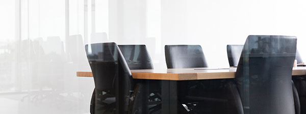 Image of board table and chairs
