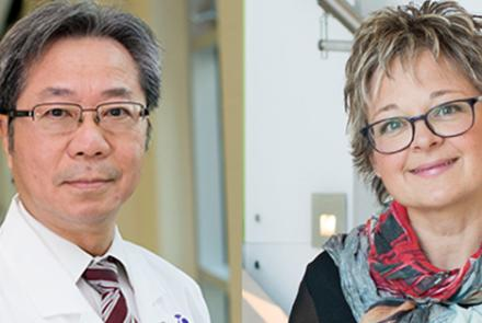 Dr. Davy Cheng and Associate Professor Janet Martin